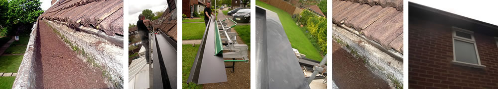 concrete gutter lining